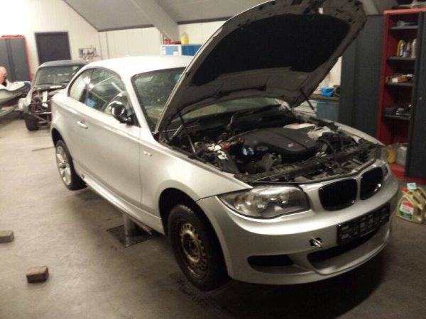 BMW 1 Series with a S85 V10