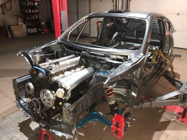 Toyota GT86 with a Turbo 3.4 L 2JZ Inline-Six