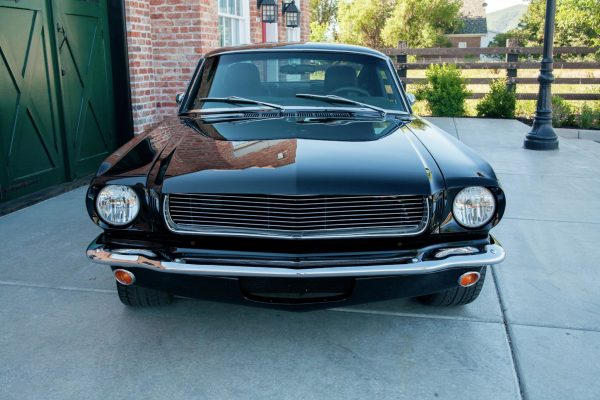 1965 Mustang with a Supercharged Cobra V8