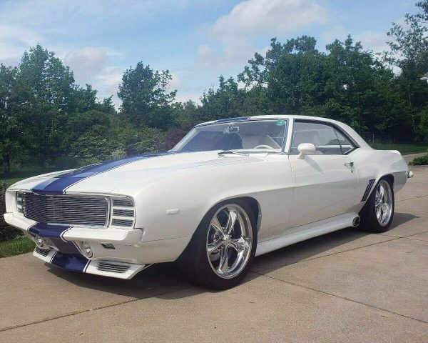 1969 Camaro with a supercharged LSA V8