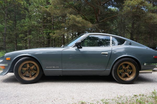 1972 Datsun 240Z with a BMW S54 inline-six