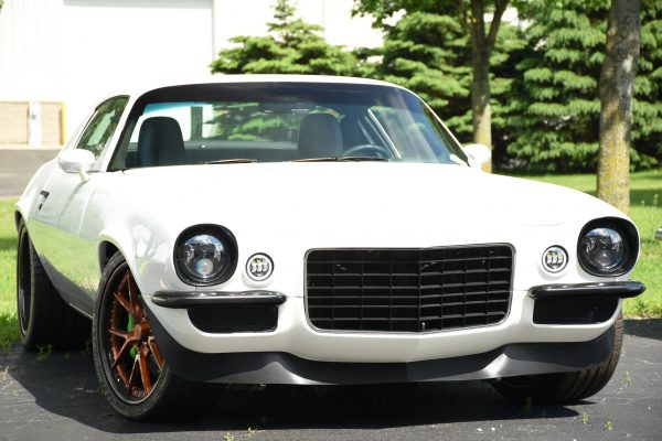 1973 Camaro with a supercharged LSA V8