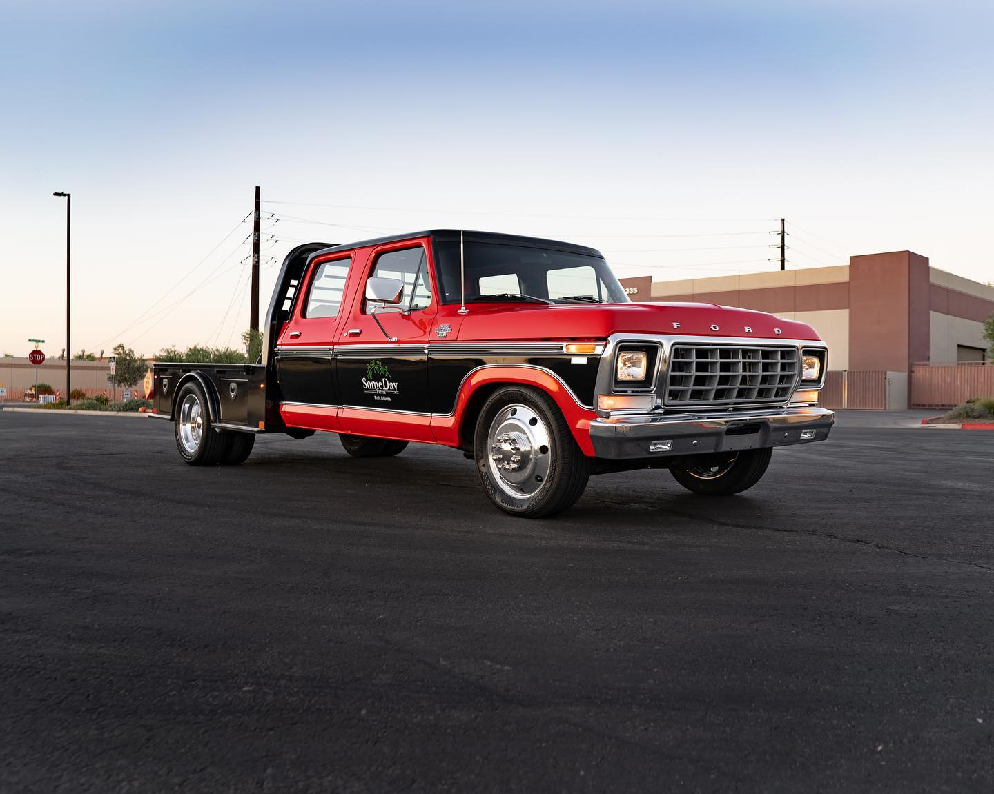 1978 Ford F 350 With A Coyote V8 Engine Swap Depot