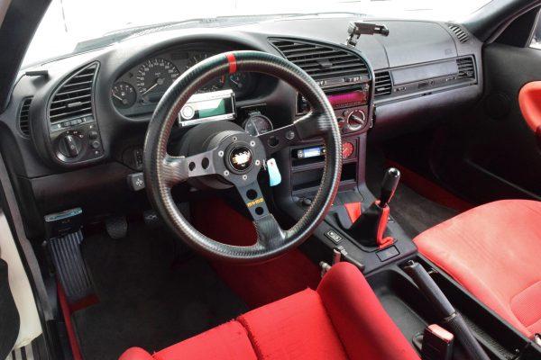 1994 BMW E36 with a SR20DET inline-four