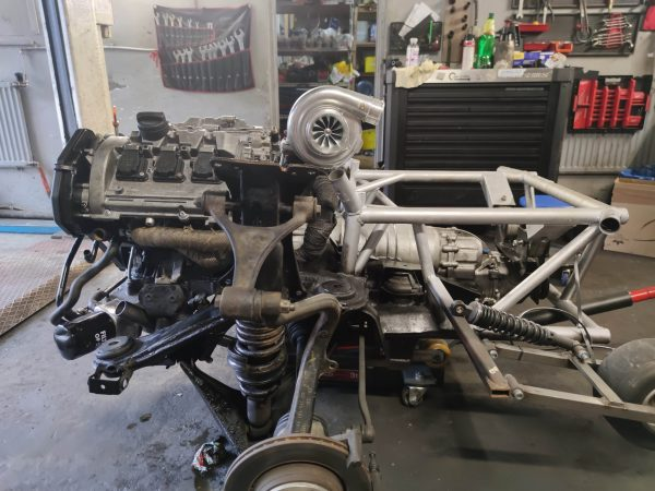 turbocharged 2.9 L V6 with a ZF 6HP six-speed automatic transmission going to a twin-engine Audi S4 wagon