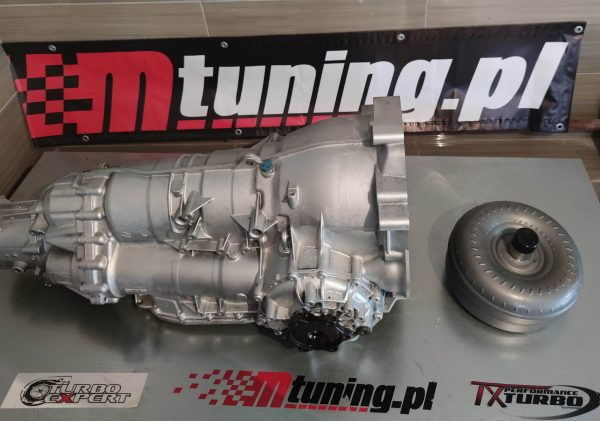 ZF 6HP six-speed automatic transmission going into an Audi S4 wagon with two V6 engines