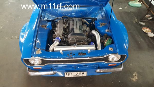 Ford Escort Mk1 with a SR20DET inline-four