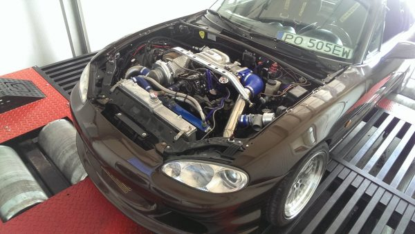 Mazda MX-5 with a turbo 13B two-rotor