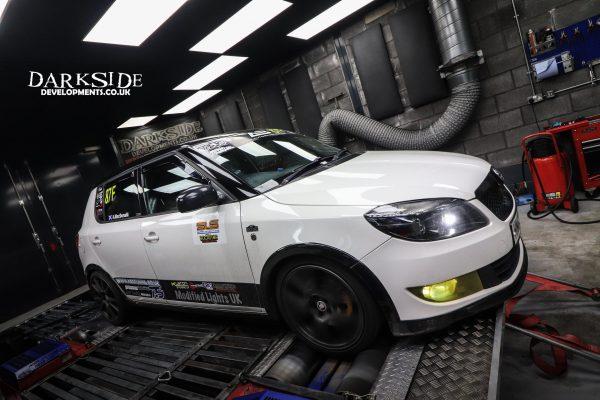 Skoda Fabia with a 2.0 L TDI diesel inline-four