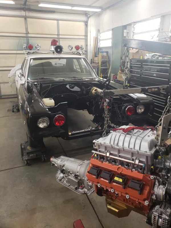 1968 Coronet with a Hellcat V8