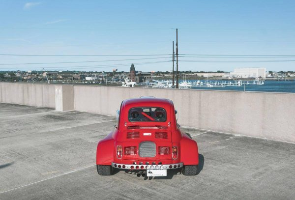 1971 Fiat 500 with a Honda B16 Inline-Four