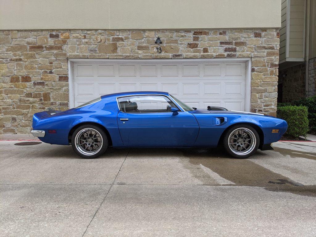 For Sale 1971 Pontiac Firebird With A 617 Whp Lsx V8 Engineswapdepot Com