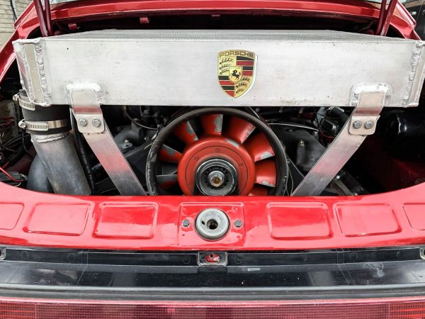 1975 Porsche 911 with a Turbo 930 Flat-Six