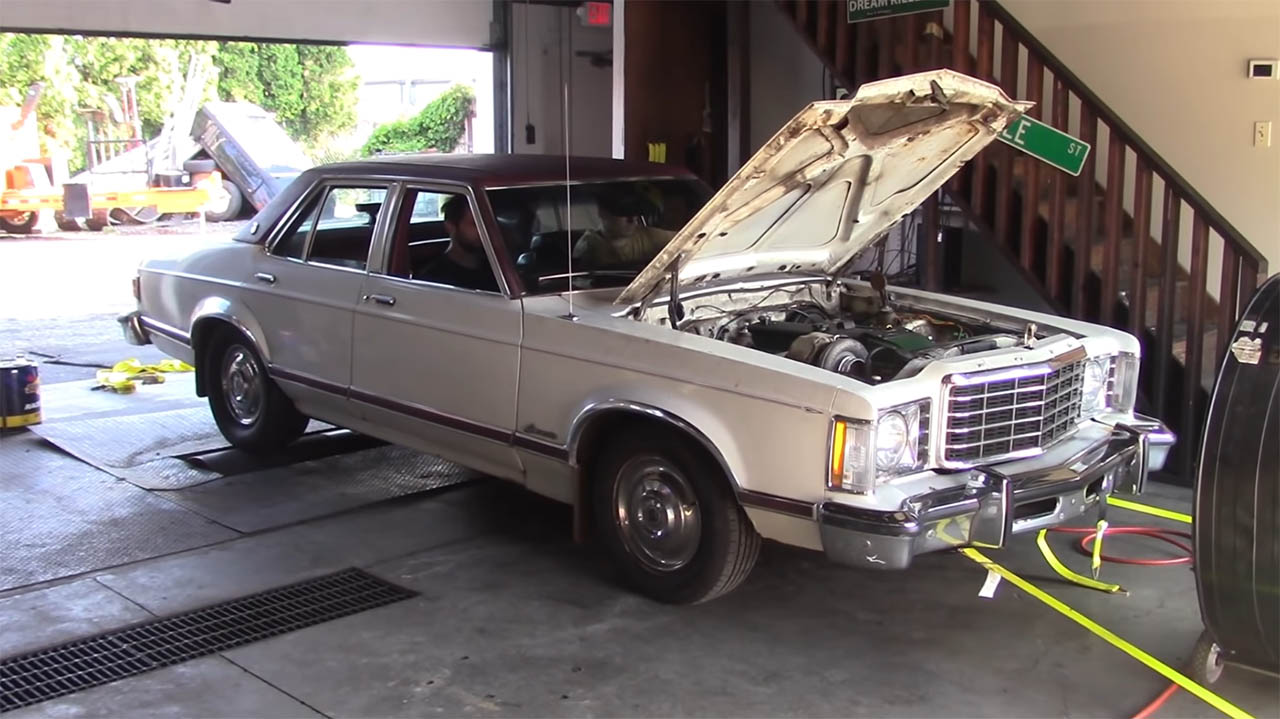1976 Ford Granada with a Turbo Barra Inline-Six