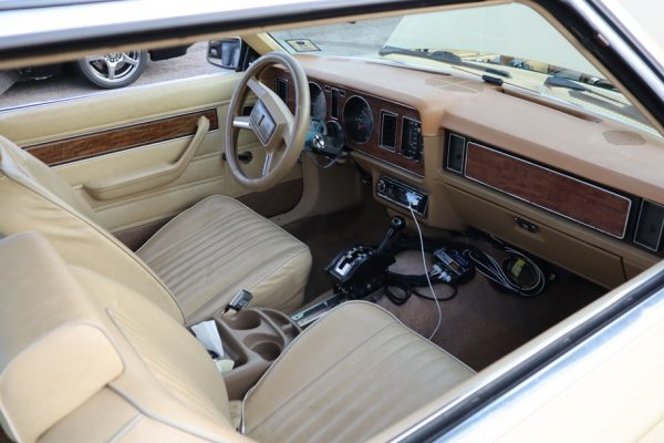1983 Ford Fairmont with a Coyote V8