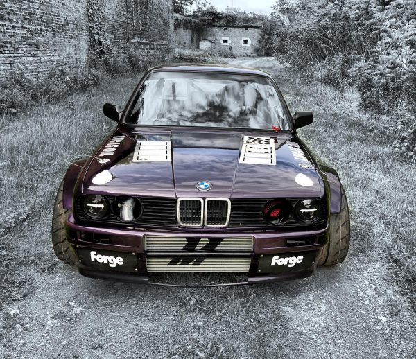 BMW E30 with a Nissan RB25DET inline-six