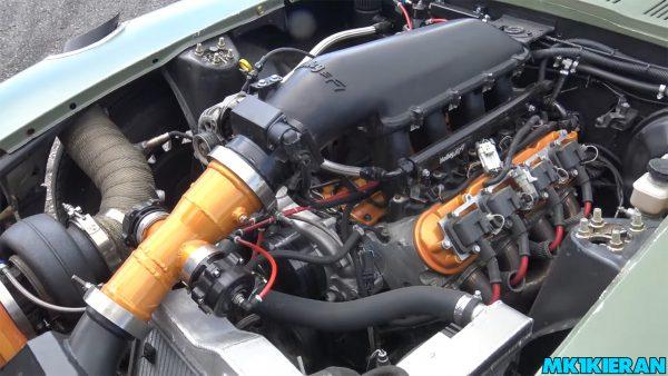 Datsun 280Z with a Turbo 6.0 L LSx V8