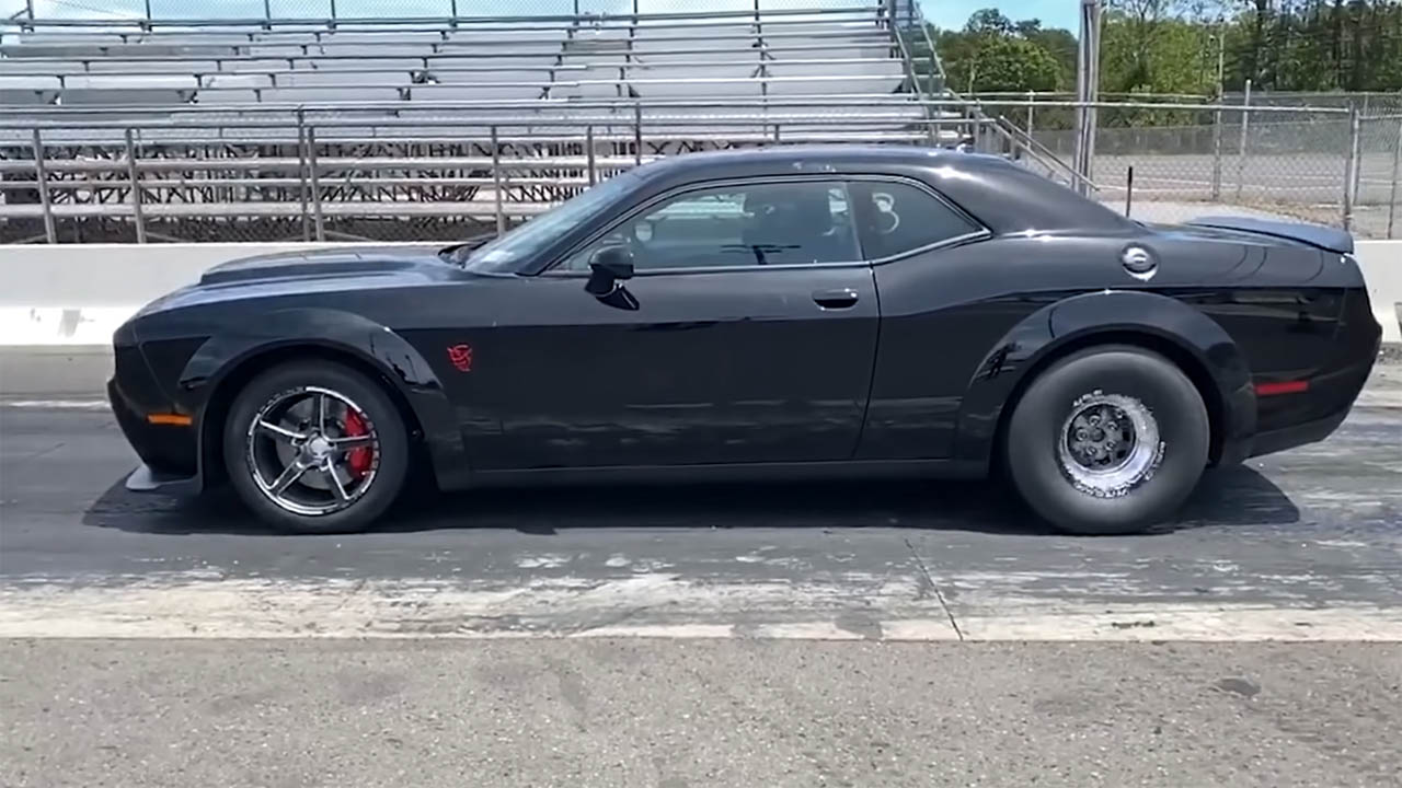Dodge Demon with a Supercharged Hellephant V8