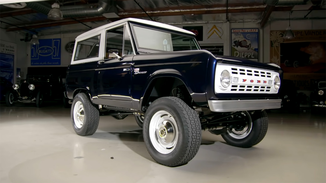 Ford Bronco with a Supercharged GT500 V8