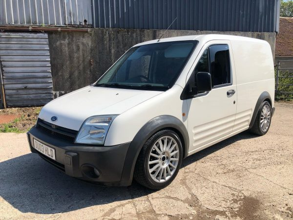Ford Transit with a Focus ST170 engine and drivetrain