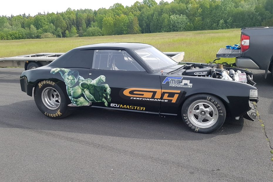GT4 Performance Toyota Celica with a Turbo 1UZ V8