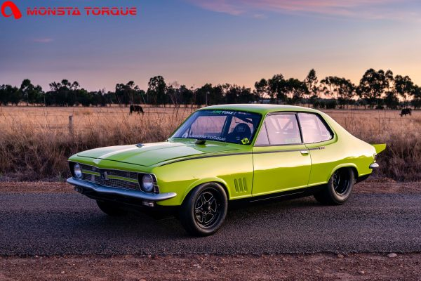 Holden Torana with a turbo Barra inline-six