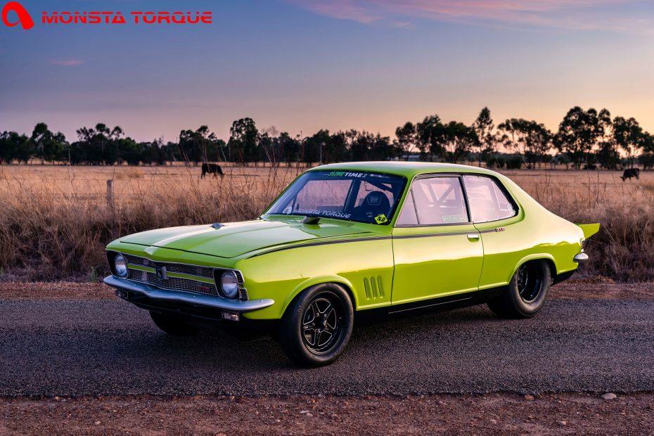 Holden Torana with a turbo Barra inline-six