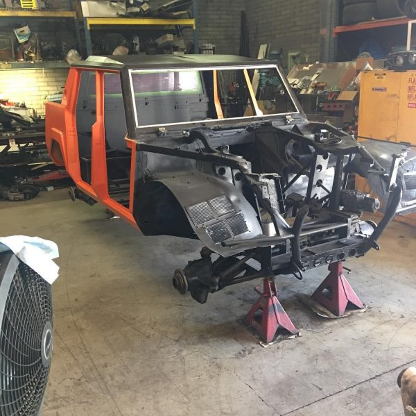 Lamborghini LM002 with a Cummins turbo diesel inline-six