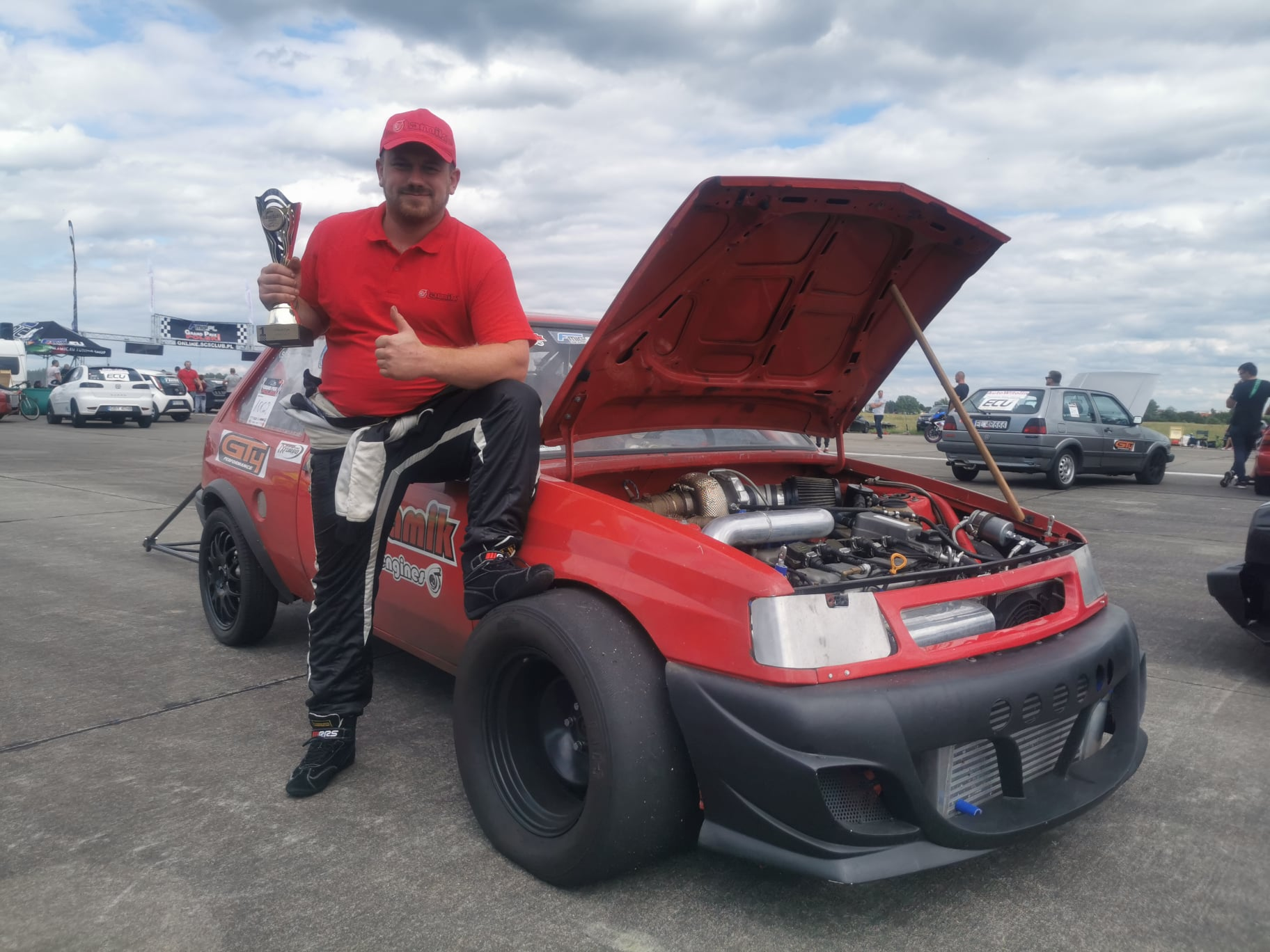 Opel Corsa A with a Turbo R30 VR6