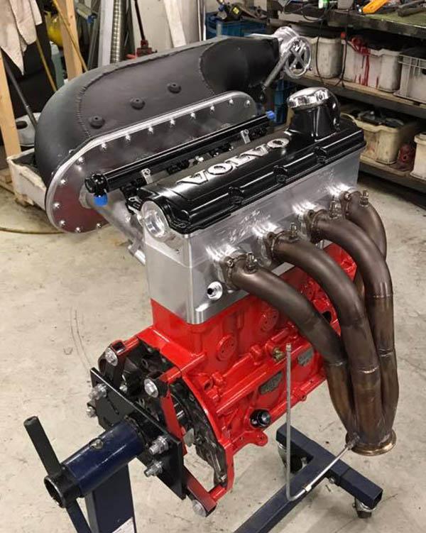 Rickard Thomsson turbo Volvo B230 8v inline-four