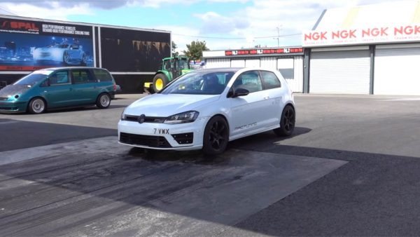 VW Golf R with a Turbo Inline-Five