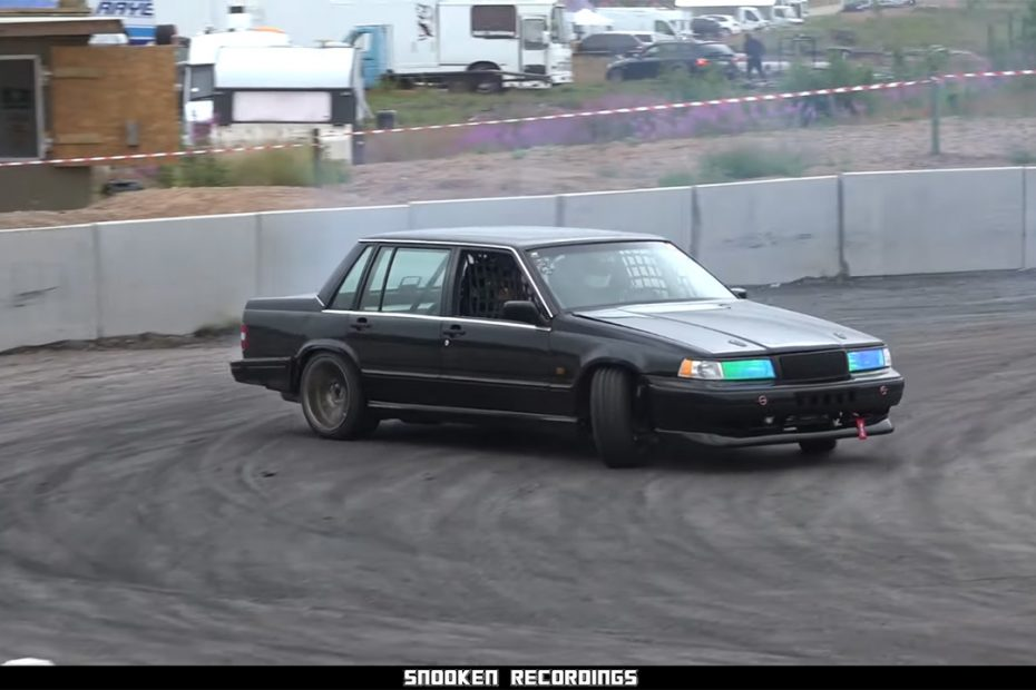 Volvo 740 with a turbo BMW M50 inline-six