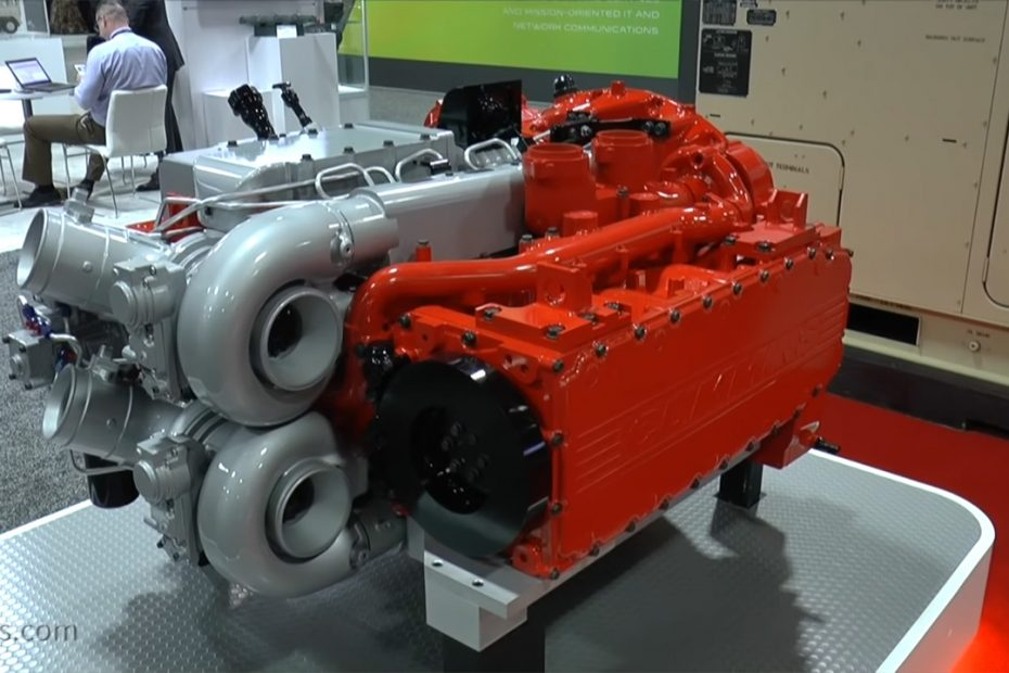 14.3 L Twin-Charged Diesel Flat-Four