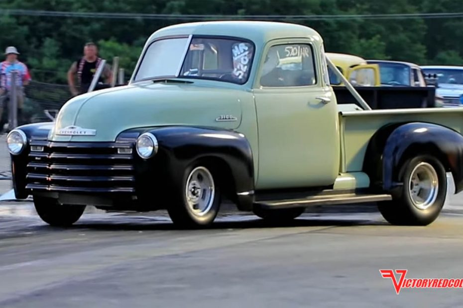 1950 Chevy 3100 with a 301 ci Inline-Six