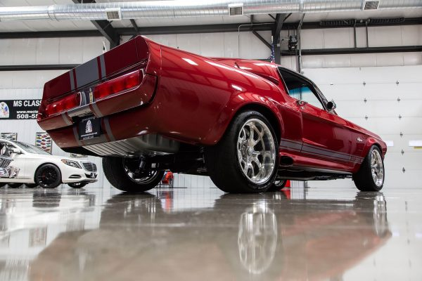 1967 Ford Mustang with a Roush 468 ci V8
