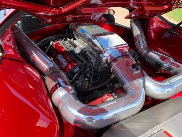 1972 Pantera with a Supercharged Coyote V8