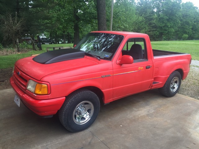 1994 Ford Ranger with a 460 ci V8