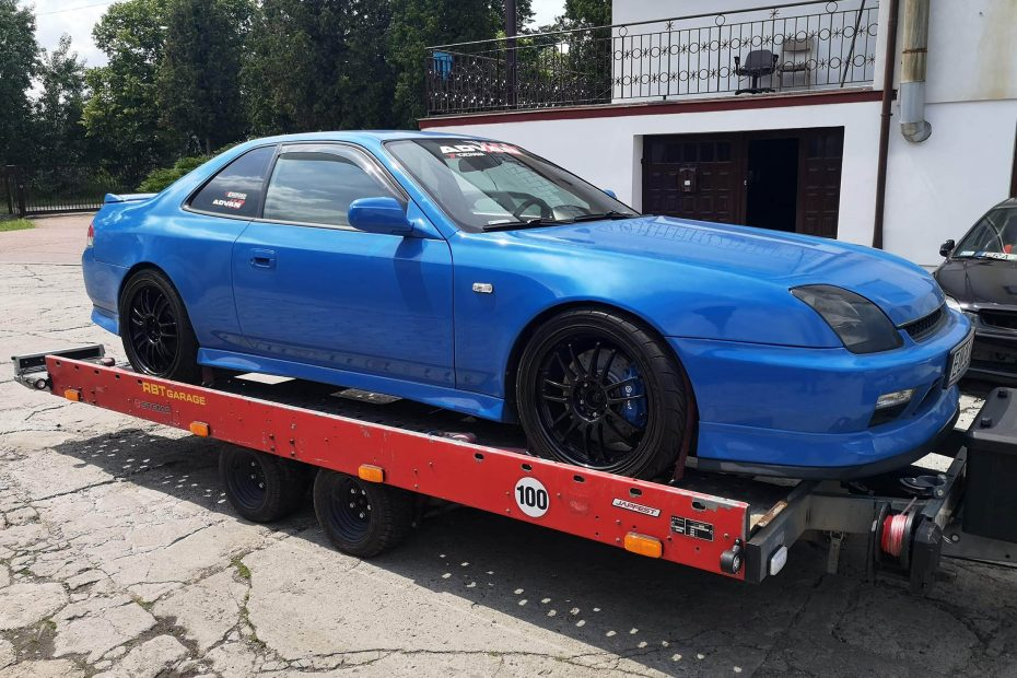 1997 Prelude with a turbo K20 inline-four