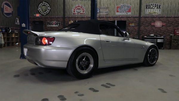 2002 Honda S2000 with a turbo 6.2 L LSx V8