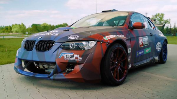 BMW E92 M3 with a Twin-Turbo LS3 V8