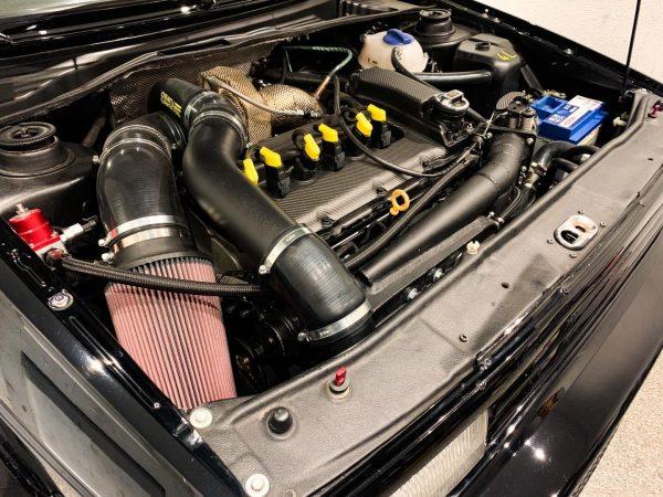 VW Golf Mk2 with a turbo 2.9 L VR6