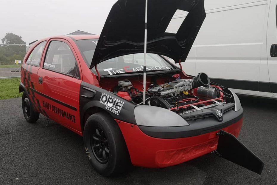 Vauxhall Corsa C with a Z32SE V6