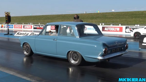 1963 Cortina with a supercharged F20C inline-four