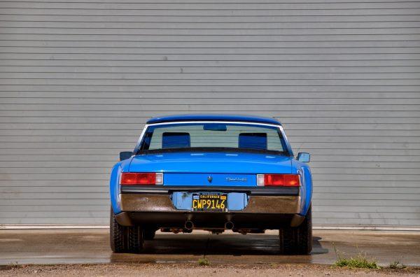 1970 Porsche 914-6 with a 3.6 L 993 flat-six