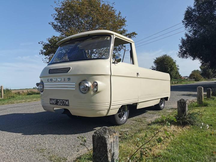 1974 Commer Van with a Ford 1.8 L turbo diesel