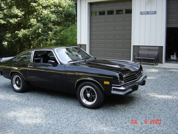 1976 Chevy Cosworth Vega with a 2.4 L Ecotec inline-four