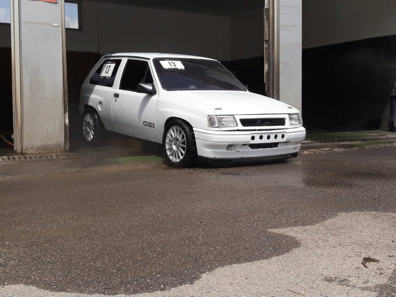 1993 Corsa A with a 3.2 L Opel V6