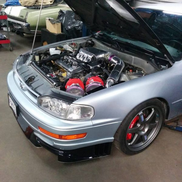 1994 Toyota Camry with a Twin-Turbo 3MZ-FE V6
