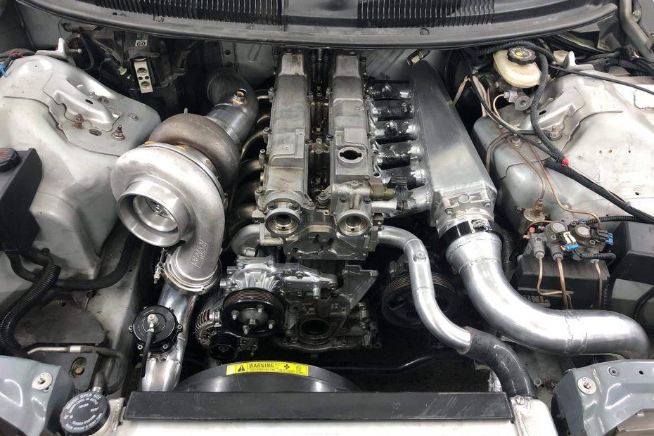 1995 Camaro Z28 with a turbo 2JZ inline-six