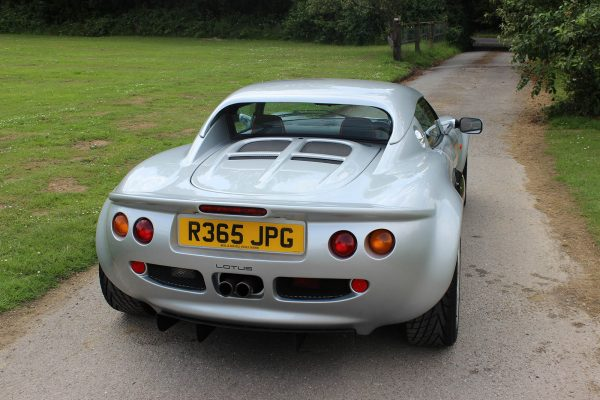 1998 Lotus Elise with a Honda K20A inline-four